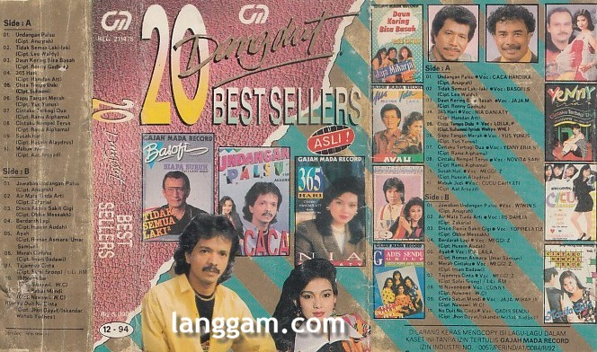 20 Dangdut Best Sellers