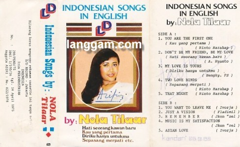 Indonesian Songs in English