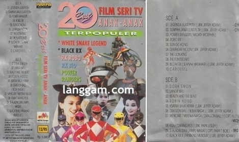 20 Best Film Serial TV Anak-anak Terpopuler