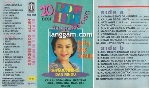 20 Pop Hits Keroncong